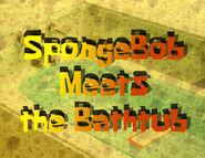 SpongeBob Meets the Bathtub