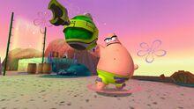 Patrick in Planktons Robotic Revenge