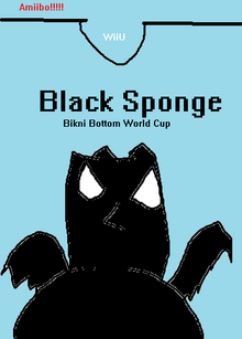 Black Sponge Bikni Bottom World Cup