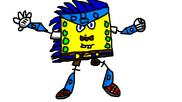 Mega Spongarionic Man