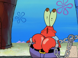Mr.Krabs in Free Samples-19