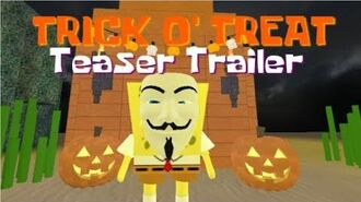SpongeBob (Roblox Series) Trick O' Treat Teaser Trailer
