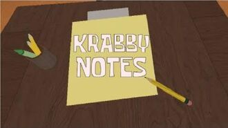 Krabby Notes (Episode 48a)