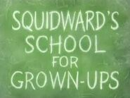 300px-Squidward's School for Grown-Ups