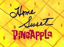 Otthon, edes ananasz