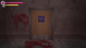 Isolation room door