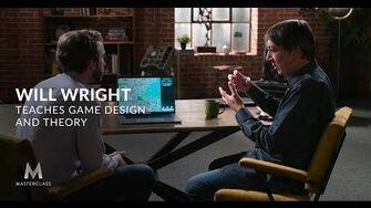 Уилл Райт обучает игровому дизайну и теории
