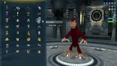 Spore Galactic Adventures Captain's Parts
