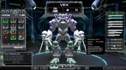 Vex in the Darkspore Editor