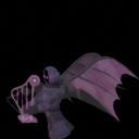 Тёмный ангел-арфист