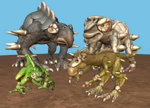 Imperial Dinosaurs
