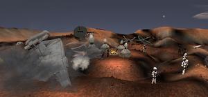 Gorga III Imperial crash site