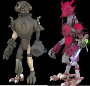 Ziskin and Cyborg Ziskin