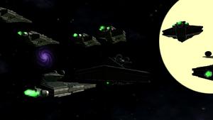 Imperial Fleet arrived at Lanat