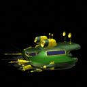 Arachnian battle Cruiser