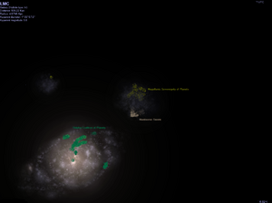 Magellanic map