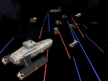 Space battle 1