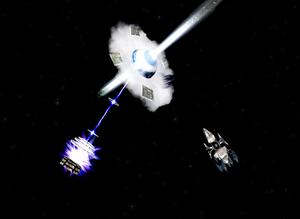 Neutron star mine