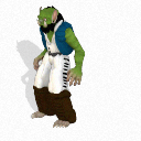 Half-Orc Ozdudrahk Male