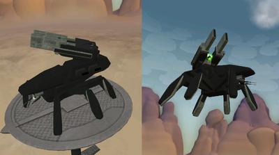 Terror Heavy Artillery Walker