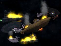 Galactic War Merced & fleet