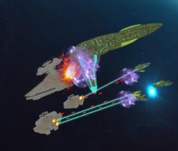 Battle for Starbase 25