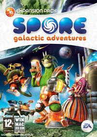 Galactic Adventures boxart