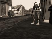 Ghorkhan soldier patrolling