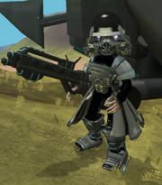Dacara Rambo Trooper Pilot