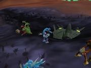 Crashed Grox spaceship
