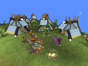 Zevia Nomad camp