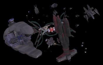 Spacecraft graveyard