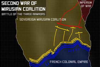 Battle of the three Armadas