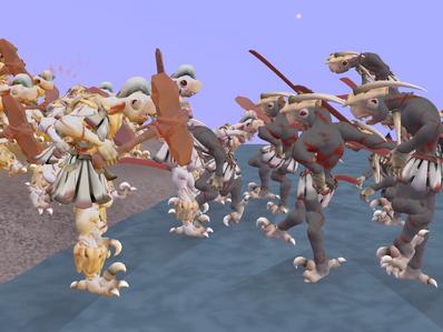 Feral Battle