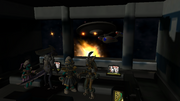 USS Attentive opens fire