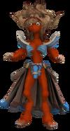 Humanoid Orange skinned