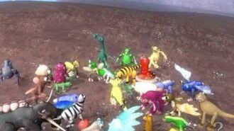 SPORE GA Criaturas unidas