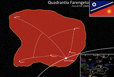 Farengeto Quadrants Map