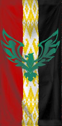 Karacay Flag