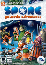 Spore - Galactic Adventures Coverart