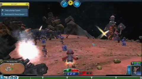 Spore Galactic Adventures Playing the Missions