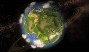 Spore planet