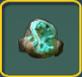 Aqua geode icon