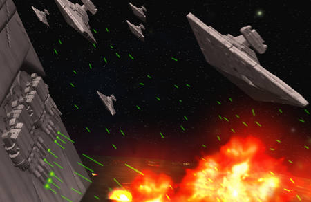 Destruction of Panthrea Prime