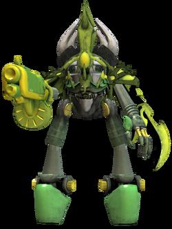 Xerkea's Mecha Suit