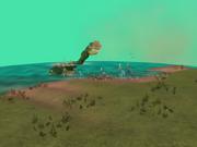 Merihirviö heimopelissä