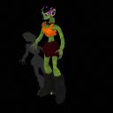 Half Orc Ozdudrahk female