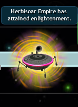 Empire attained enlightenment