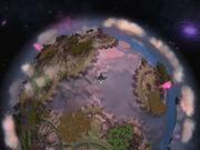 Gears storybook planet