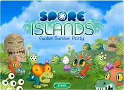 Spore islands mainscreen